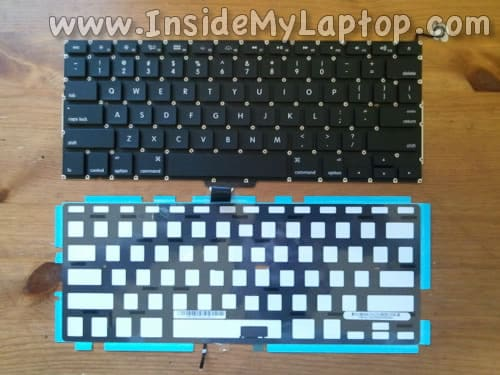 Replace MacBook Pro 13 keyboard and backlight