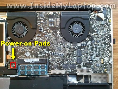 MacBook Pro 17-inch Mid 2009 motherboard