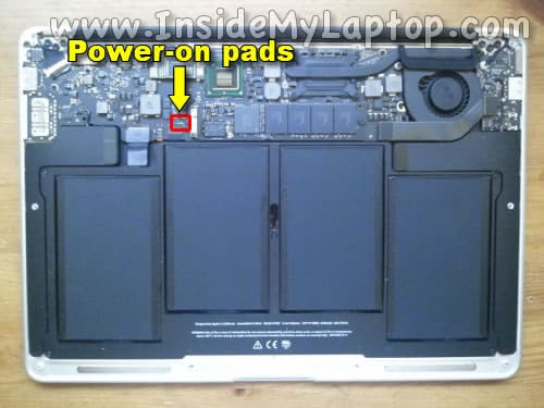 MacBook Air 13-inch Mid 2011 motherboard