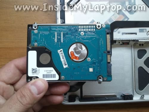 Remove MacBook Pro hard drive