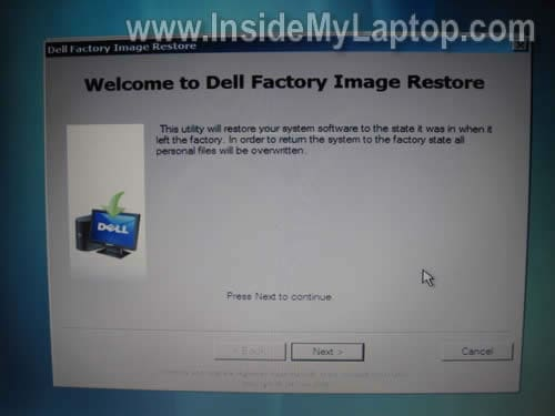 dell xps l502x recovery partition