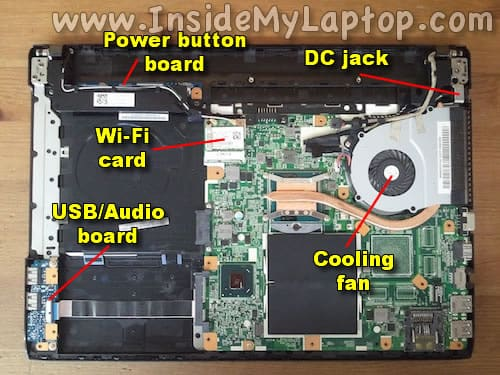 How To Disassemble Sony Vaio E Series  U2013 Inside My Laptop