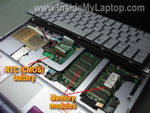 vaio laptop bios button