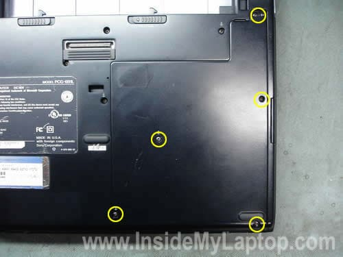 Remove hard drive cover