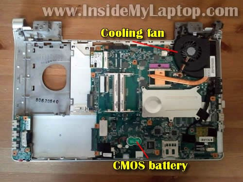 How to disassemble Sony Vaio VGN-FW170J – Inside my laptop