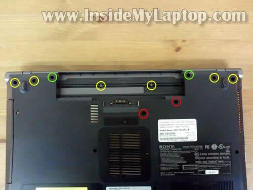 sony laptop battery reset