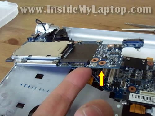 How to disassemble Sony Vaio VPCS111FM  Fixing power button