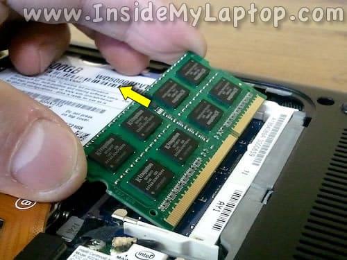 Remove RAM module