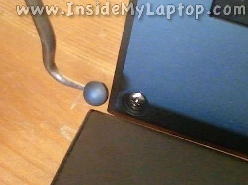 Remove screw cover