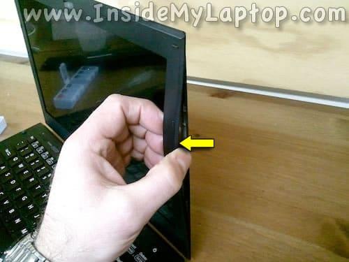 Separate screen bezel