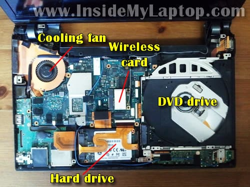 sony vaio laptop heating problem