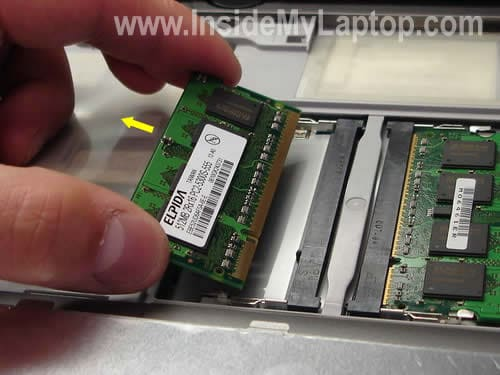 Replace RAM memory