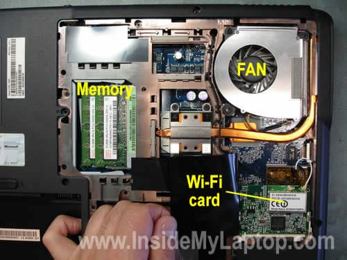 Memory Fan Wi-Fi card