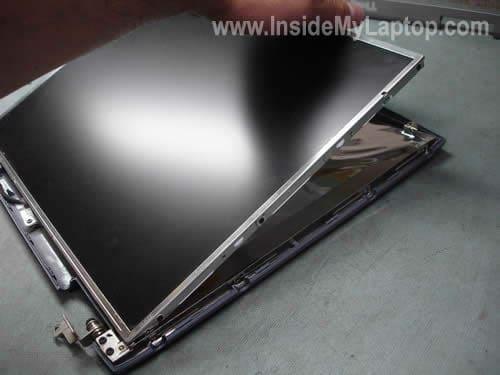 Remove LCD screen