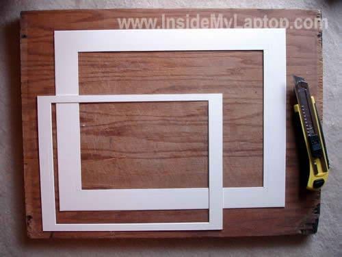 Resize paper inner frame