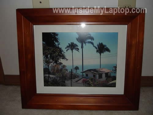 Laptop digital picture photo frame