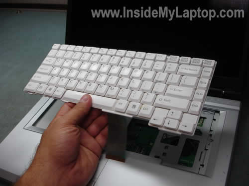 Replace notebook keyboard