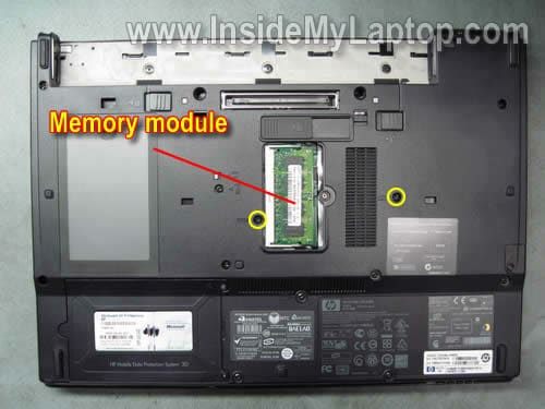 How to change ram in compaq laptop