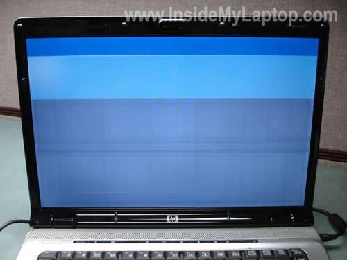 Bad LCD screen
