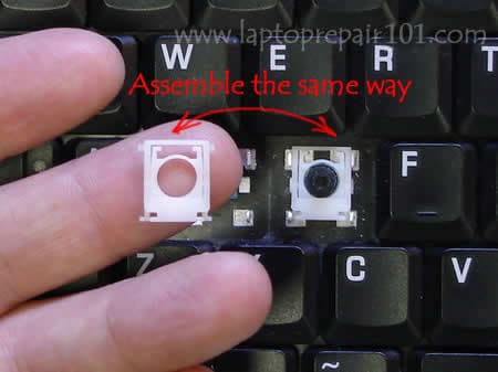 how to repair laptop keyboard buttons