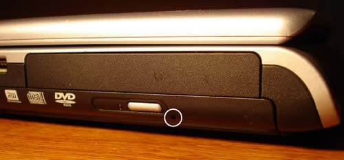 Remove CD DVD disc from HP laptop