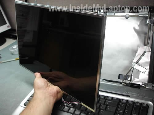 Remove replace laptop LCD screen