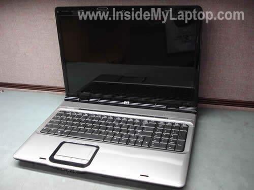 HP Pavilion dv9000 laptop