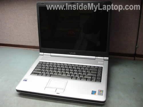Sony Vaio PCG-K25 notebook disassembly
