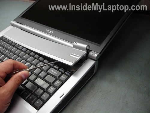 Remove keyboard bezel