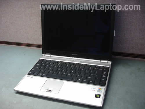 Sony Vaio VGN-SZ display disassembly