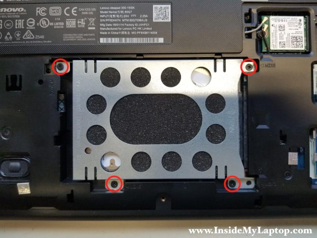 Lenovo ideapad 300-15ISK hard drive