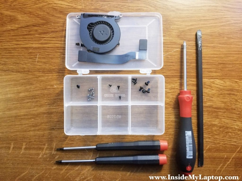 Keep screws organized