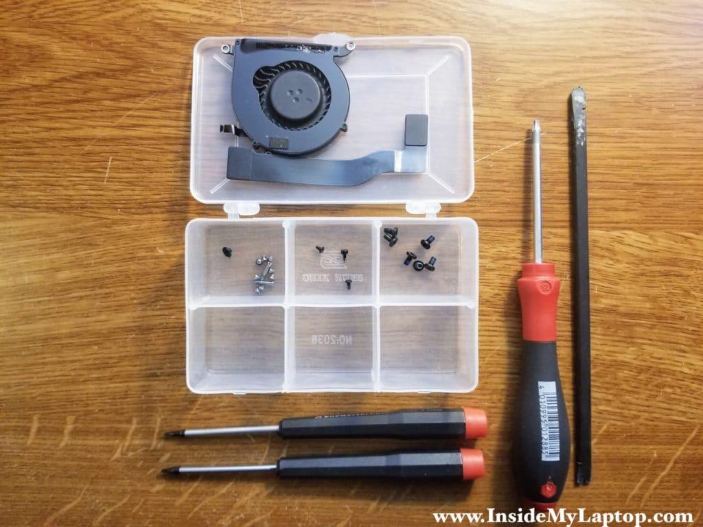 Keep screws organized