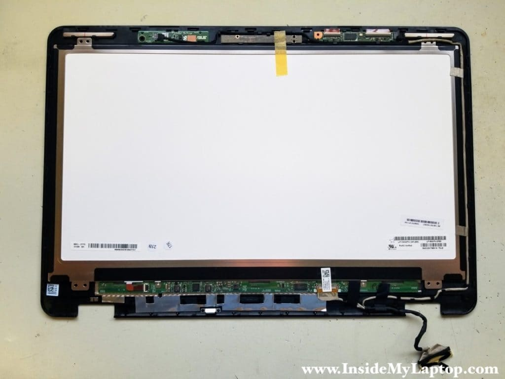 Replace LCD screen digitizer assembly