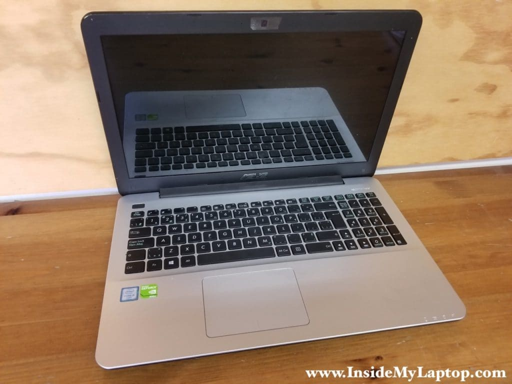 Asus X555 series laptop