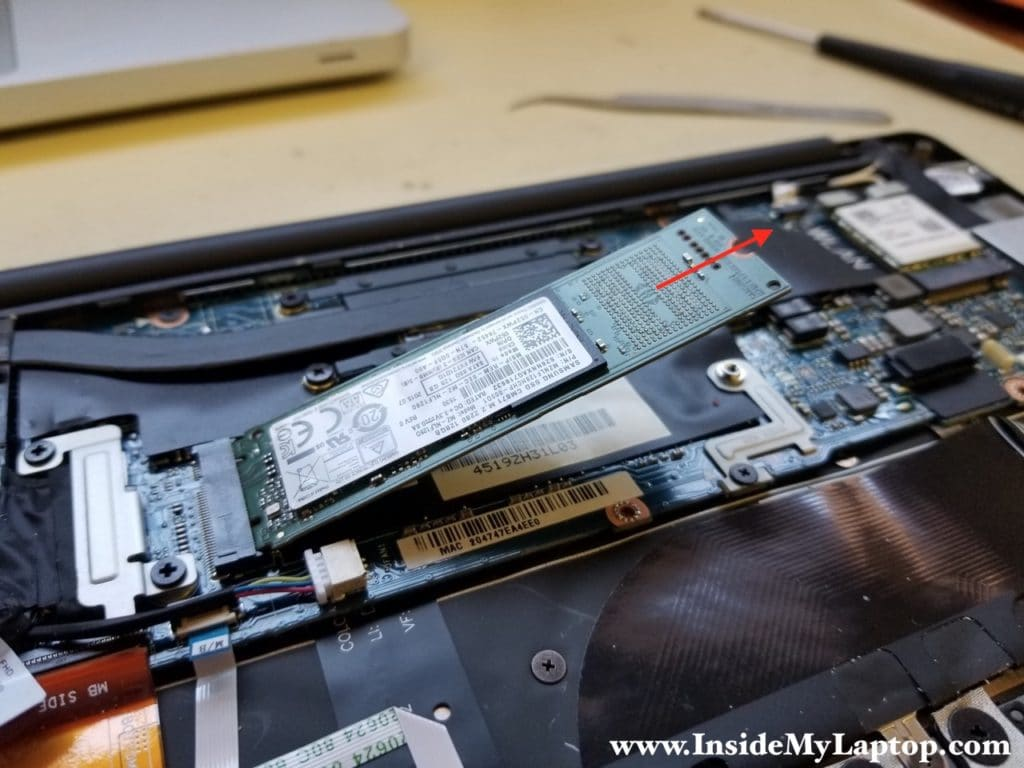 Remove solid state drive