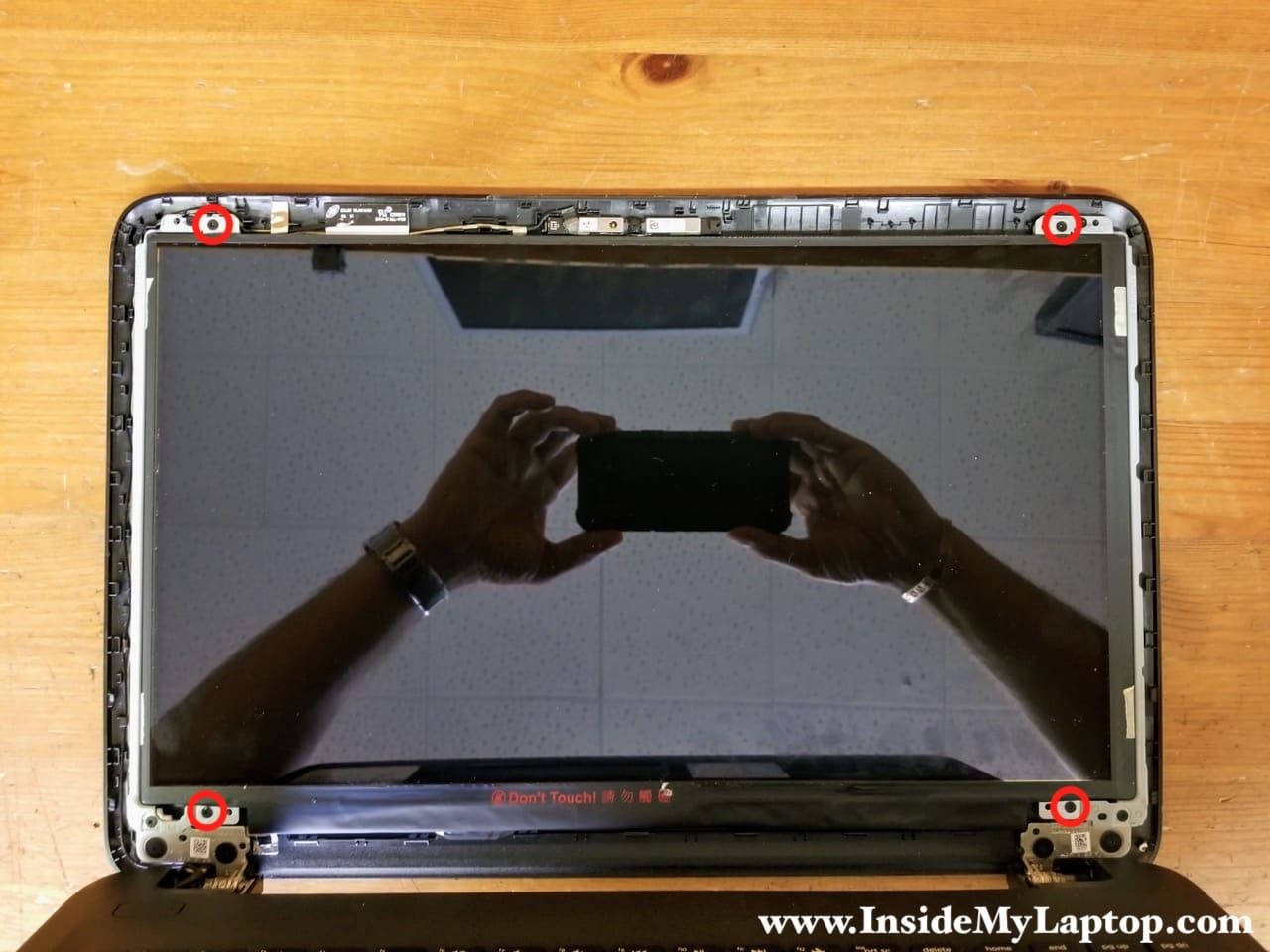 Full disassembly of HP 15 notebook PC – Inside my laptop