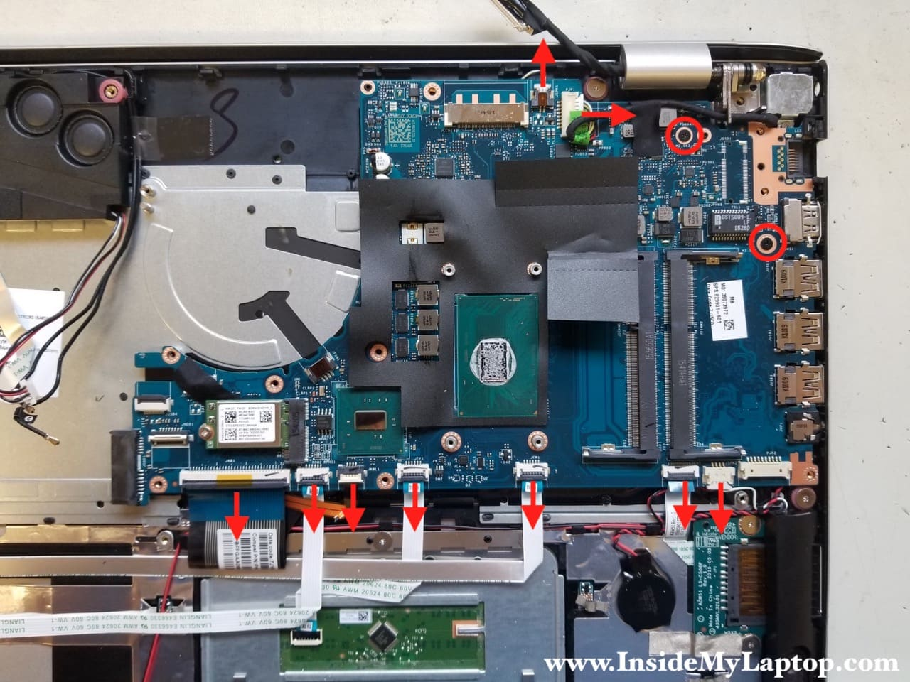 How To Disassemble Hp Envy 15t Ae100 Inside My Laptop