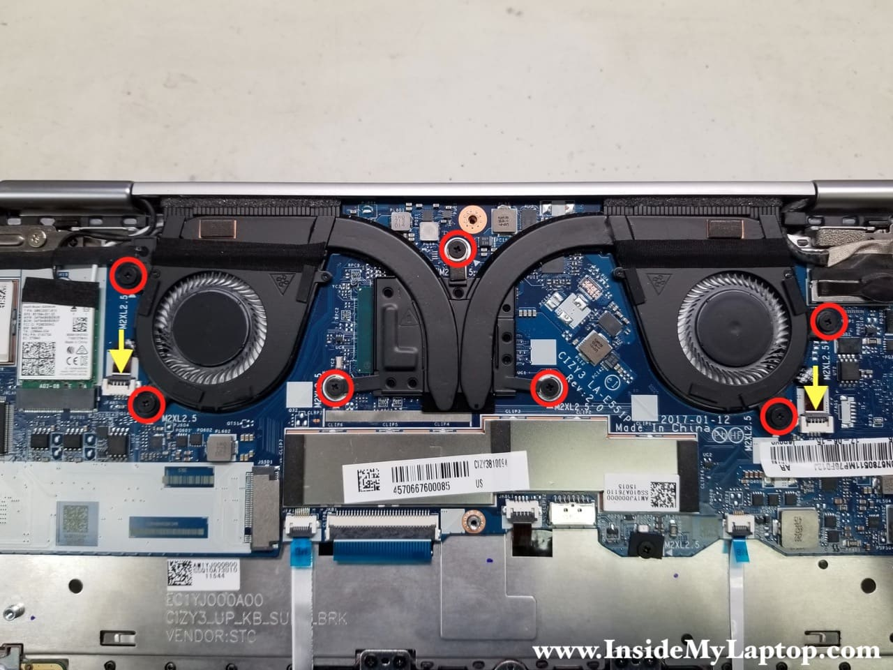 Taking apart Lenovo Yoga 720-13IKB – Inside my laptop