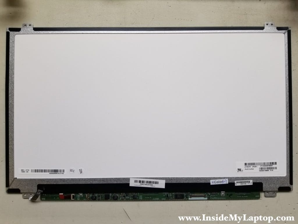 Replace LCD screen