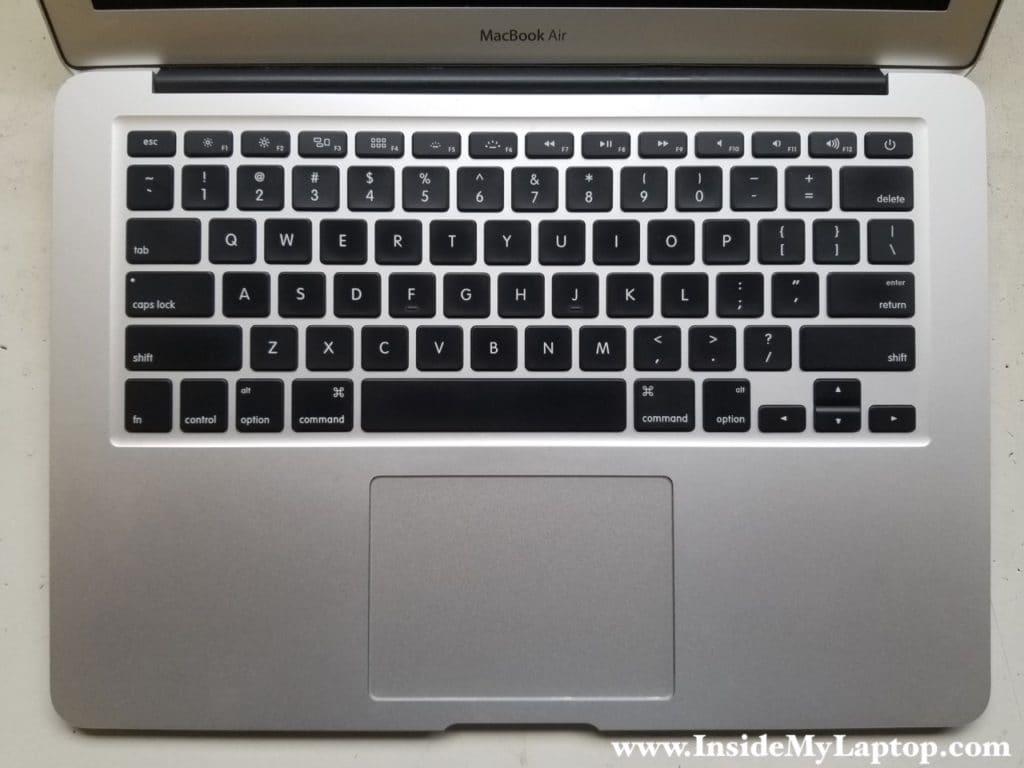MacBook Air with not working keyboard and trackpad