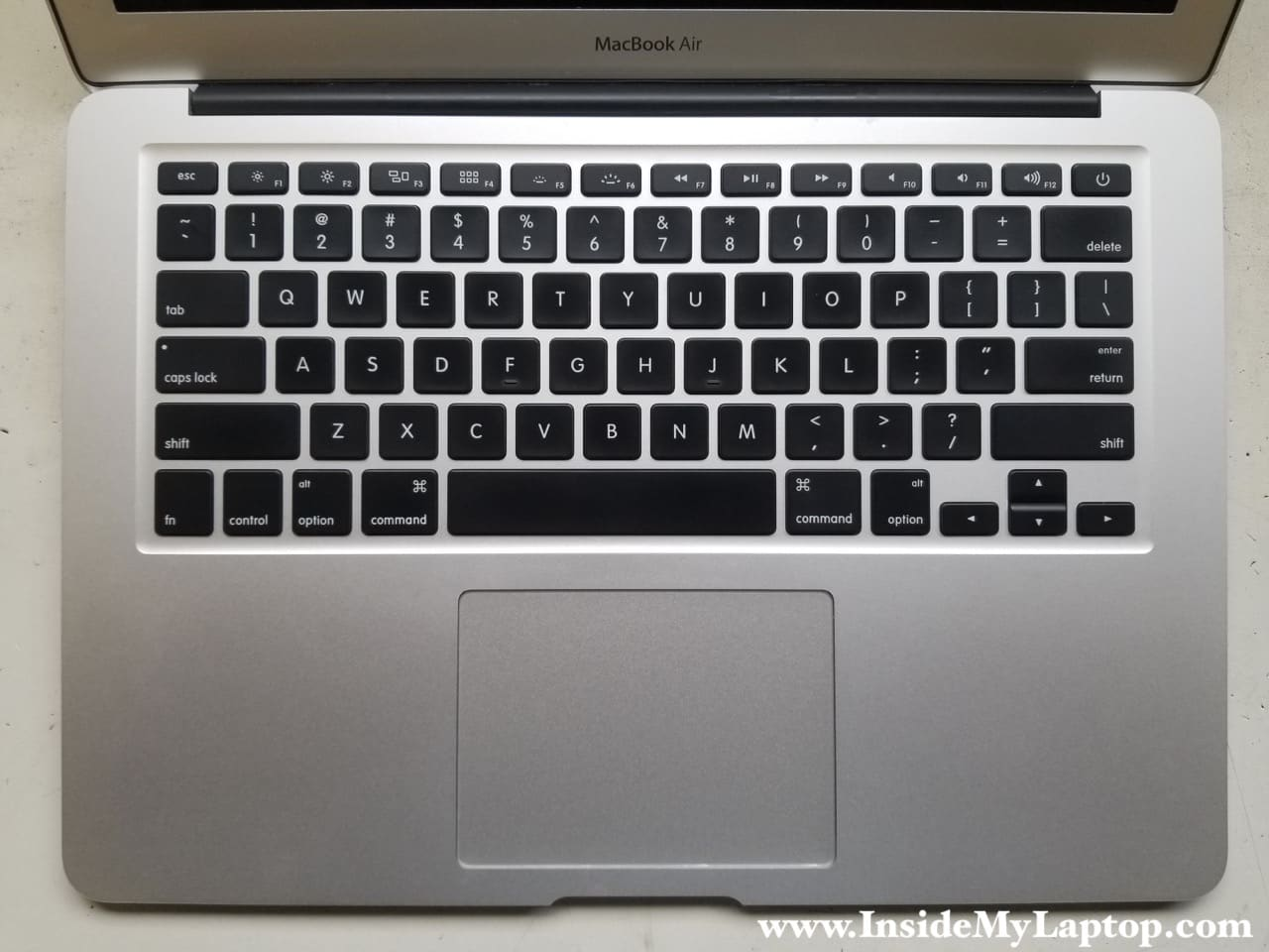 How I fixed trackpad, keyboard after water spill on Macbook Air