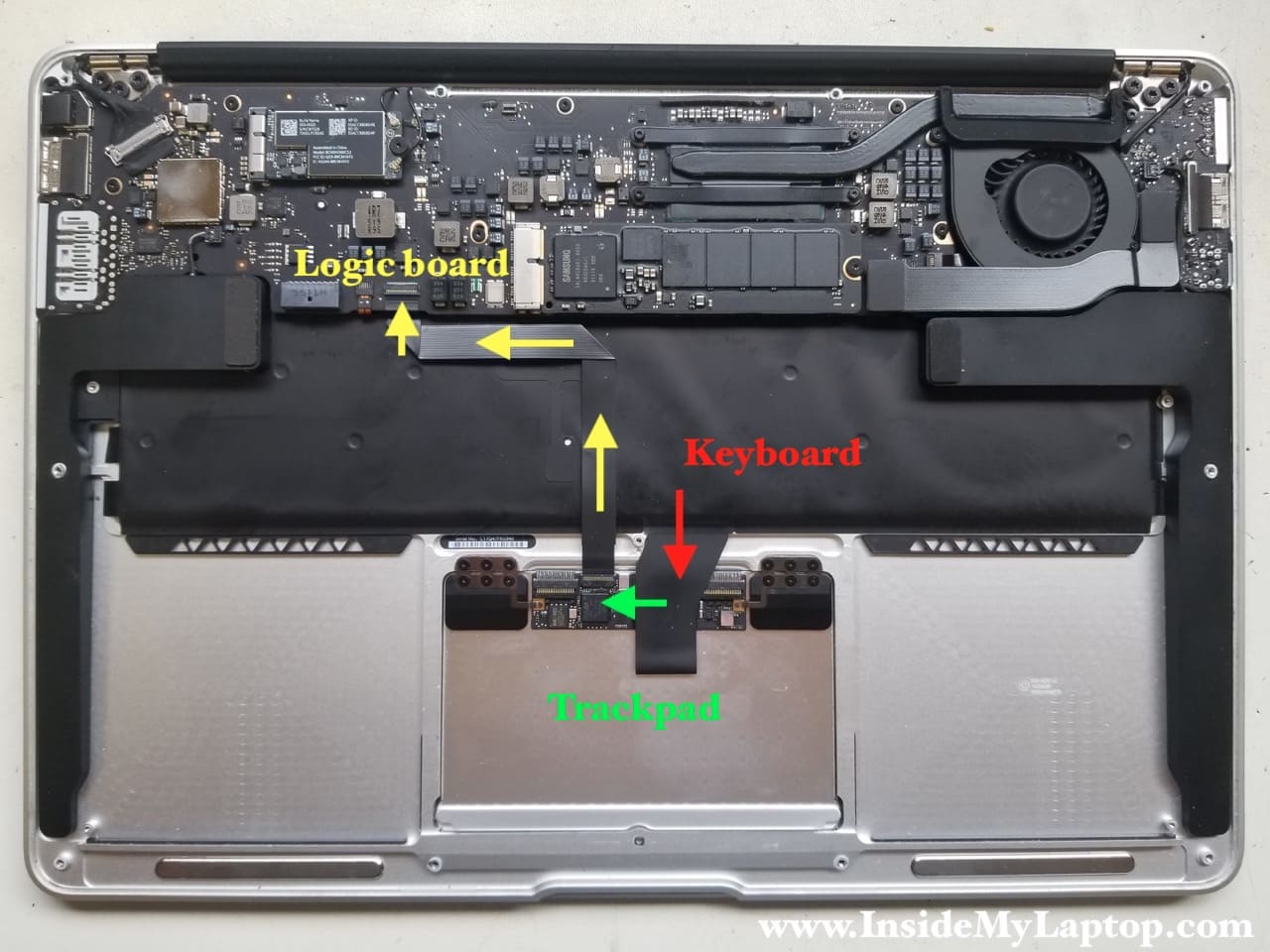 How I fixed trackpad, keyboard after water spill on Macbook