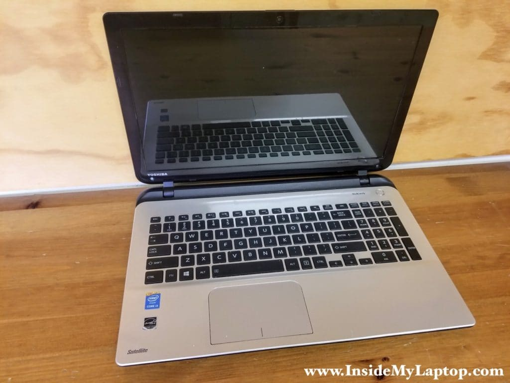 How to disassemble Toshiba Satellite L55 L55D L50 L50D