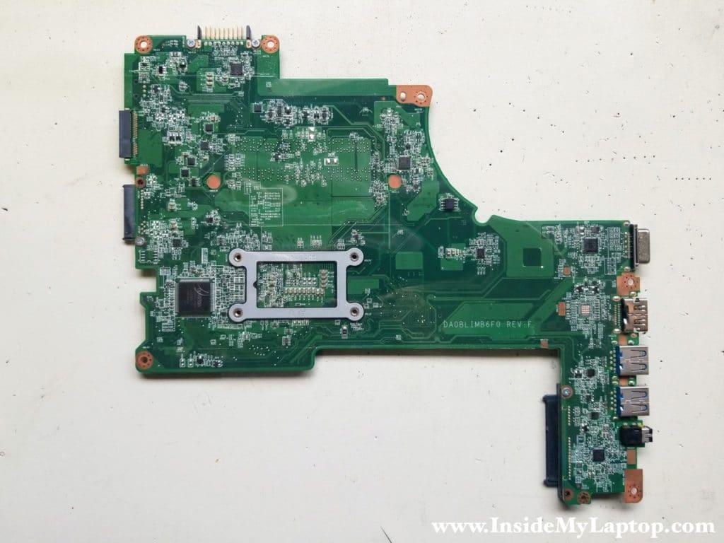 Toshiba Satellite L55 L55D L50 L50D motherboard removed