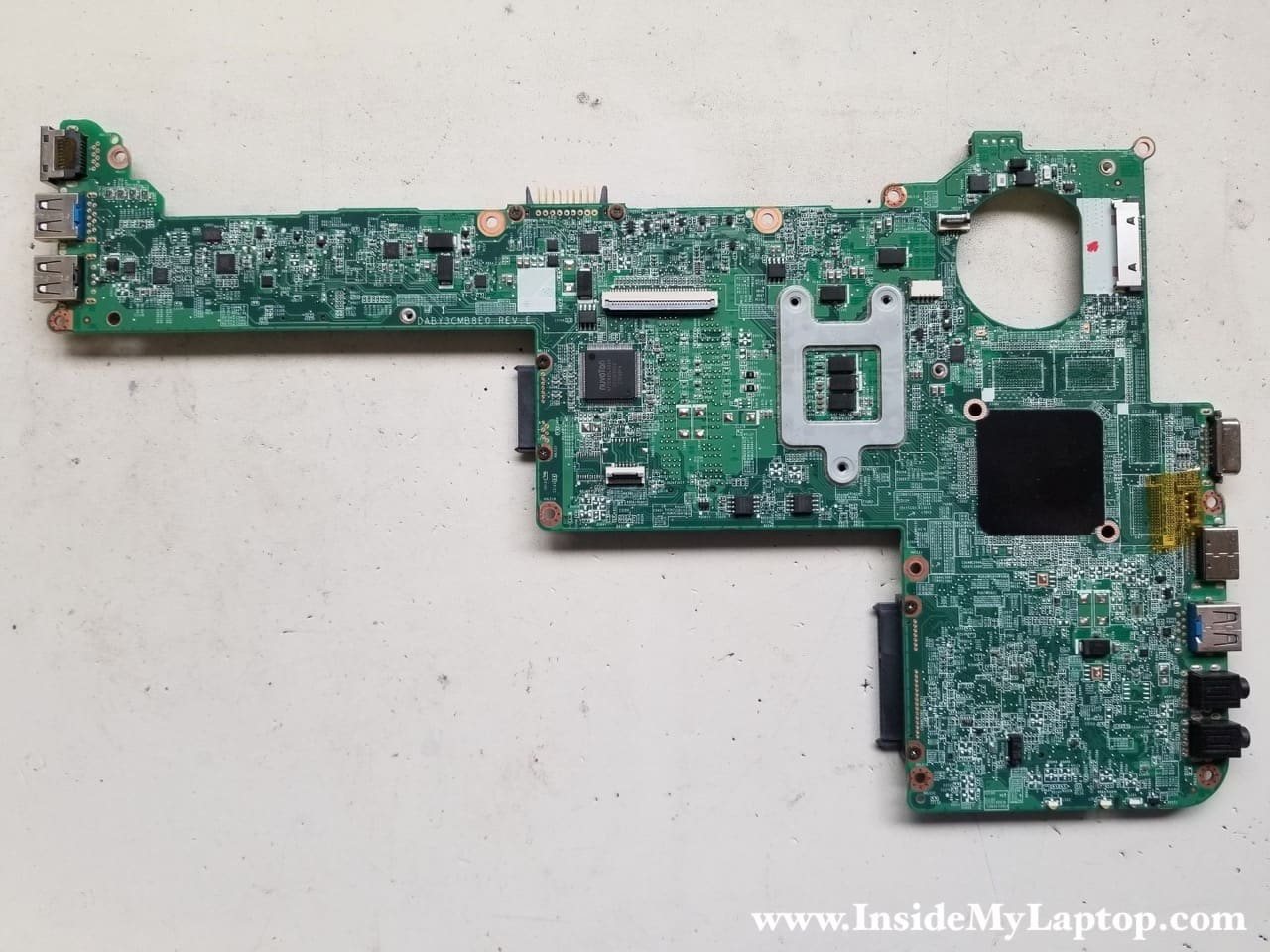 how to take apart a toshiba laptop