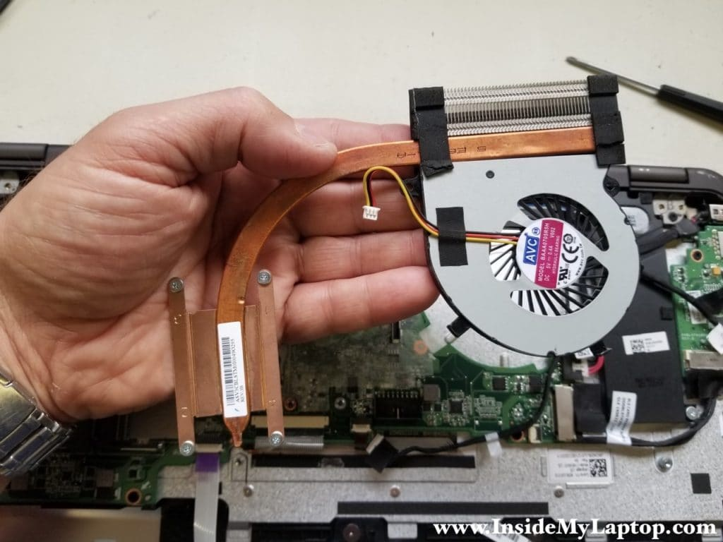 Remove cooling module
