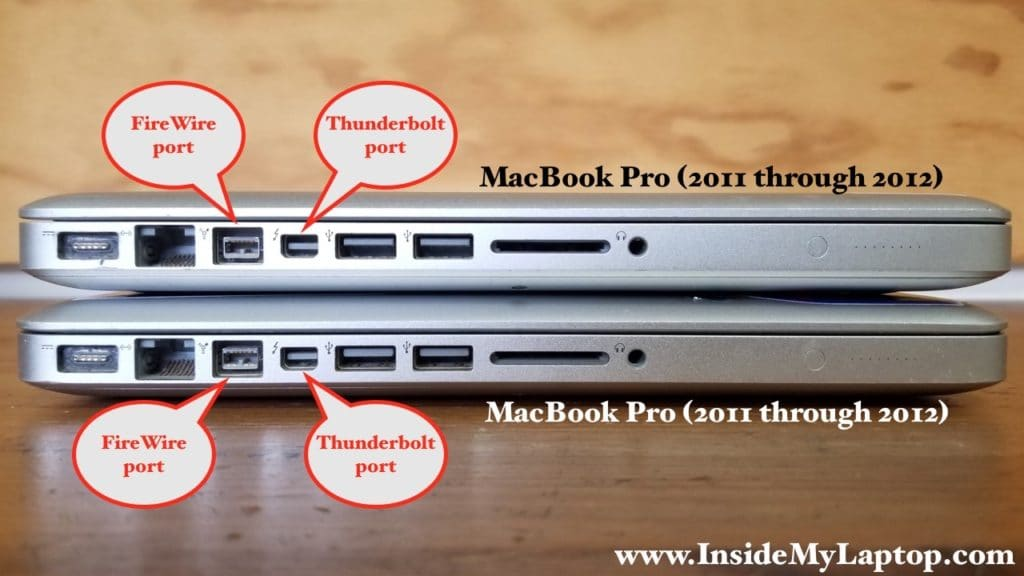 Connecting two MacBook Pros (2011-2012)