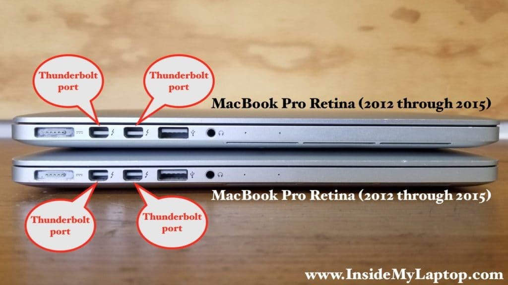 Connecting two MacBook Pro Retinas (2012-2017)