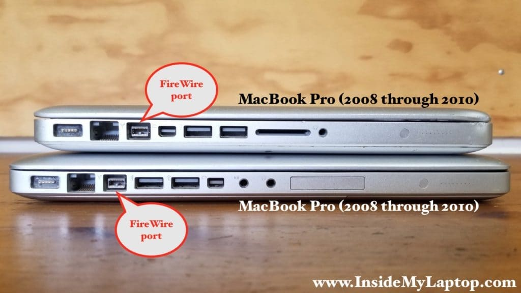 Connecting two MacBook Pros (2008-2010)